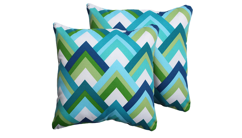TK Classics Resort Outdoor Throw Pillows Square Set of 2 | Kipe it