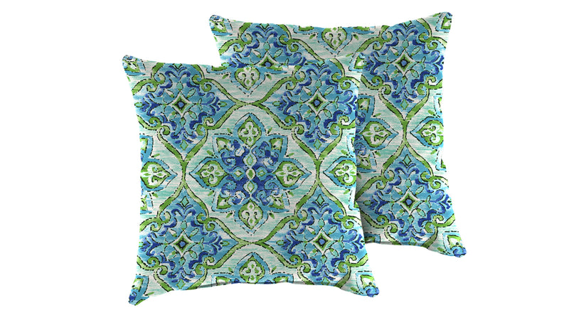 TK Classics Splendor Outdoor Throw Pillows Square Set of 2 | Kipe it