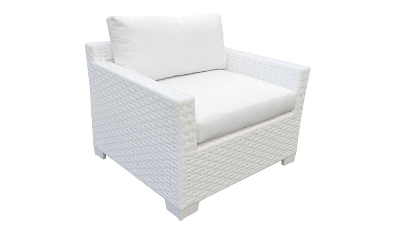 TK CLASSICS Monaco 11 Piece Outdoor Wicker Patio Furniture Set 11a - Aruba | Kipe it