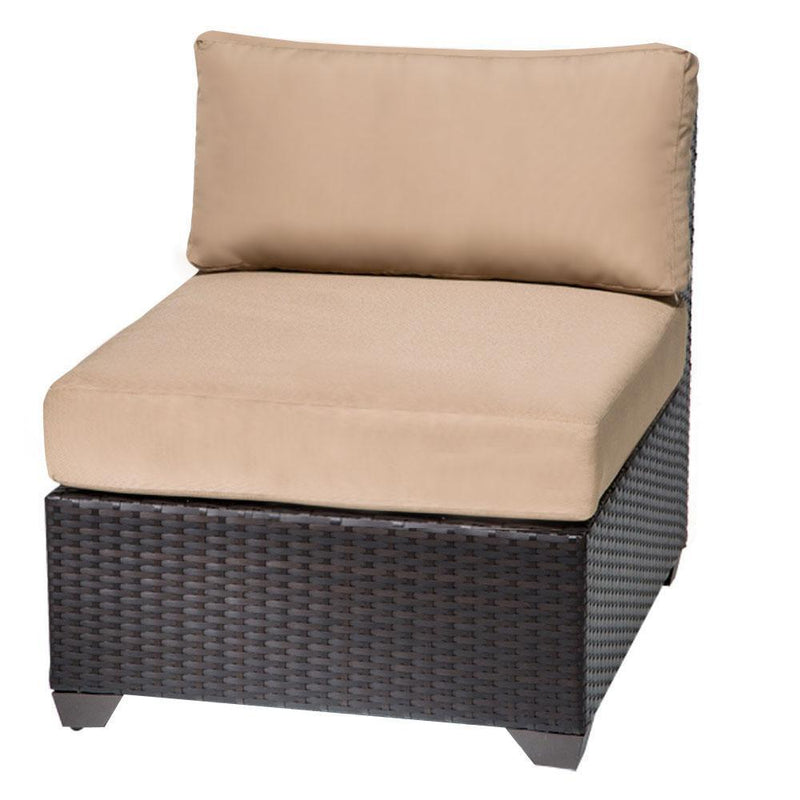TK CLASSICS Barbados 12 Piece Outdoor Wicker Patio Furniture Set 12d - Terracotta | Kipe it