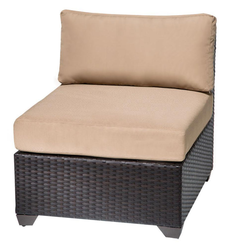 TK CLASSICS Barbados 6 Piece Outdoor Wicker Patio Furniture Set 06f - Beige | Kipe it