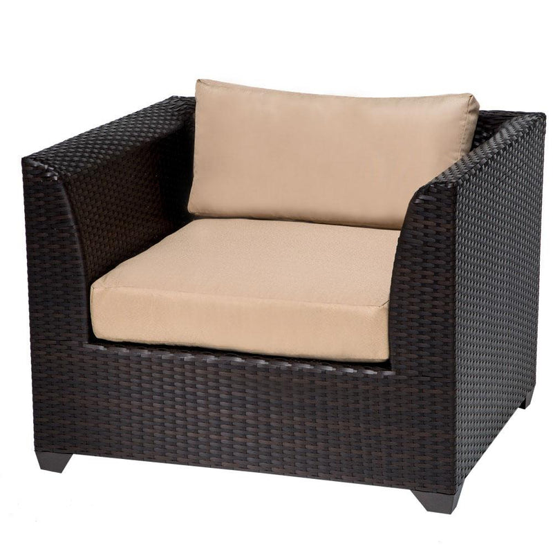 TK CLASSICS Barbados 12 Piece Outdoor Wicker Patio Furniture Set 12a - Black | Kipe it