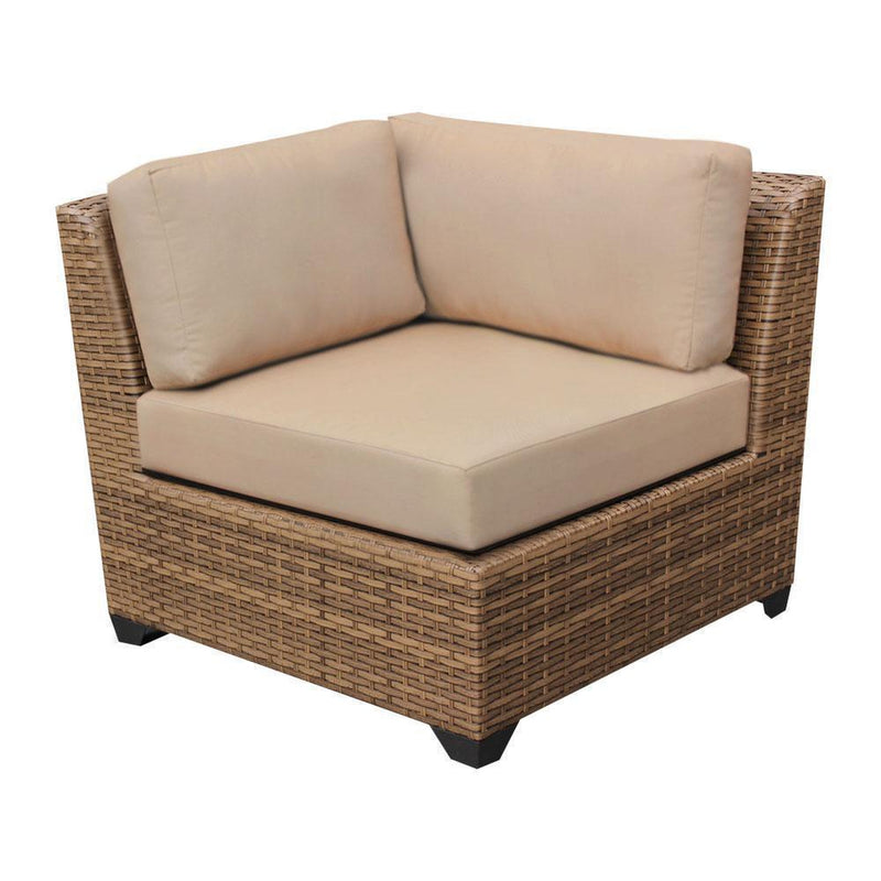 TK CLASSICS Laguna 17 Piece Outdoor Wicker Patio Furniture Set 17d - Aruba | Kipe it
