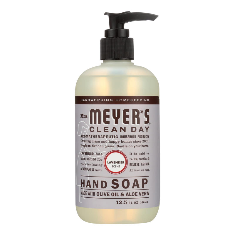 Mrs. Meyer's Clean Day - Liquid Hand Soap - Lavender - Case of 6 - 12.5 oz | Kipe it