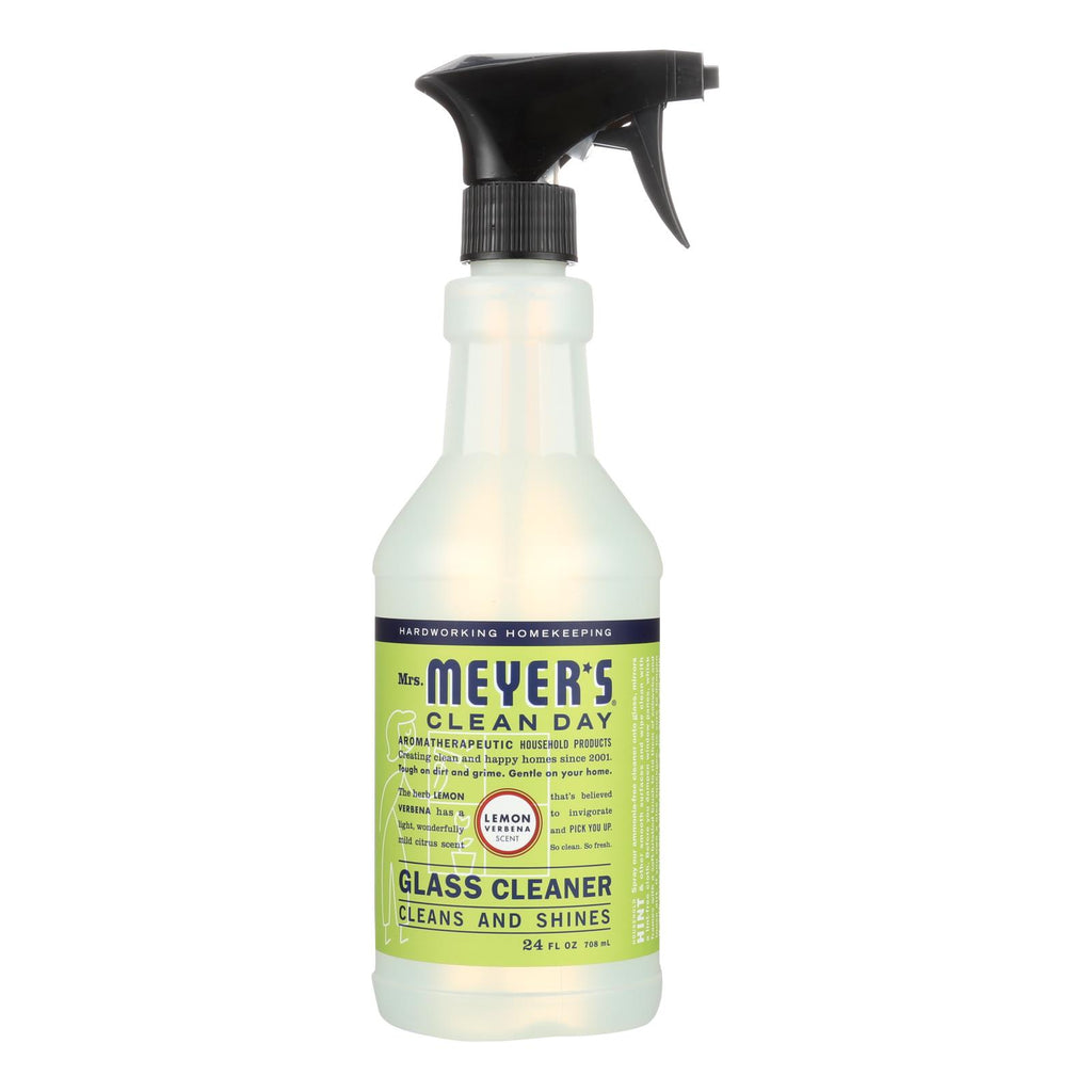 Mrs. Meyer's Clean Day - Glass Cleaner - Lemon Verbena - Case of 6 - 24 oz | Kipe it