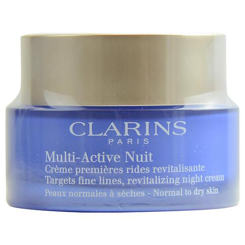 CLARINS Multi-Active Nuit Targets Fine Lines Revitalizing Night Cream ( Normal to Dry Skin ) --50ml/1.6oz | Kipe it