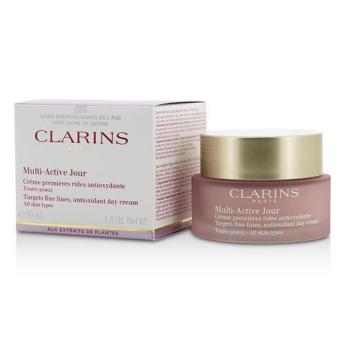 CLARINS Multi-Active Day Targets Fine Lines Antioxidant Day Cream - For All Skin Types --50ml/1.6oz | Kipe it
