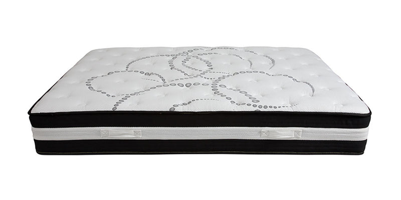 "Flash Furniture Capri Comfortable Sleep 12"" Foam and Pocket Spring Mattress - Queen Size 