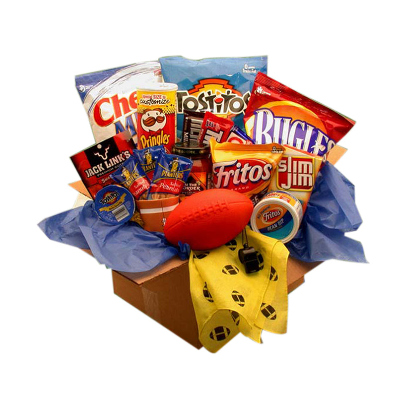 Touchdown Game Time Snacks Care Package | Kipe it