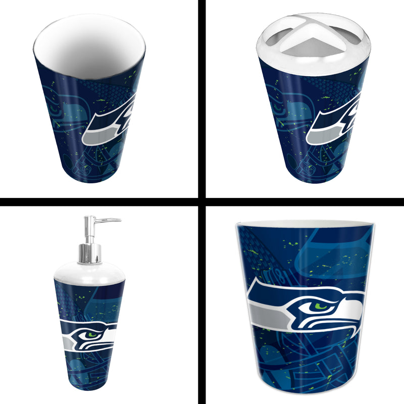 Seahawks OFFICIAL  4-Piece Bath Set | Kipe it