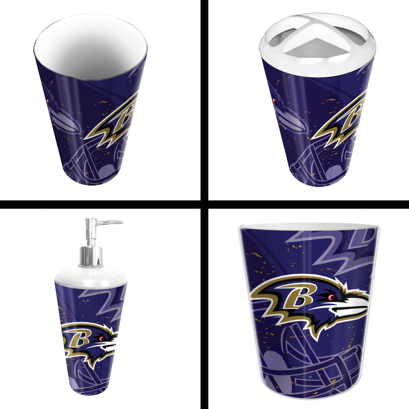 Ravens OFFICIAL  4-Piece Bath Set | Kipe it