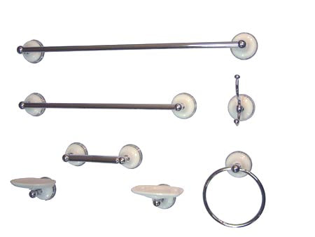 Kingston Brass BAK1110C1 Bathroom Accessory Combo, Chrome - Polished Chrome | Kipe it