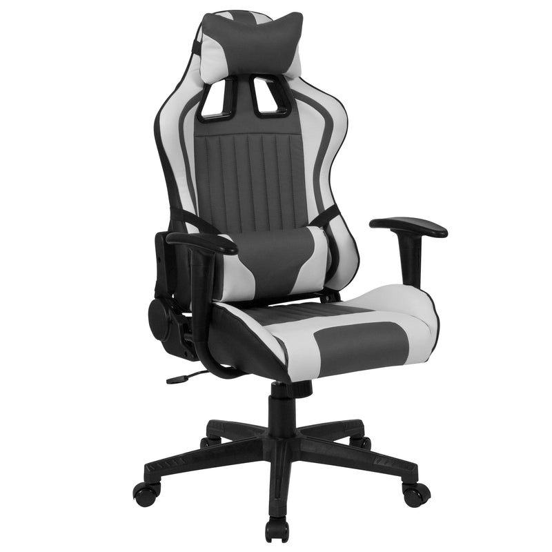 Cumberland Comfort Series High Back Executive Reclining Racing/Gaming Swivel Chair with Adjustable Lumbar Support | Kipe it