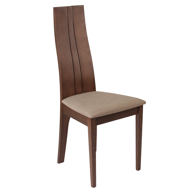 Essex Wood Dining Chair with Fabric Seat