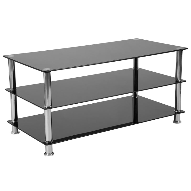 Riverside Collection TV Stand with Metal Frame | Kipe it