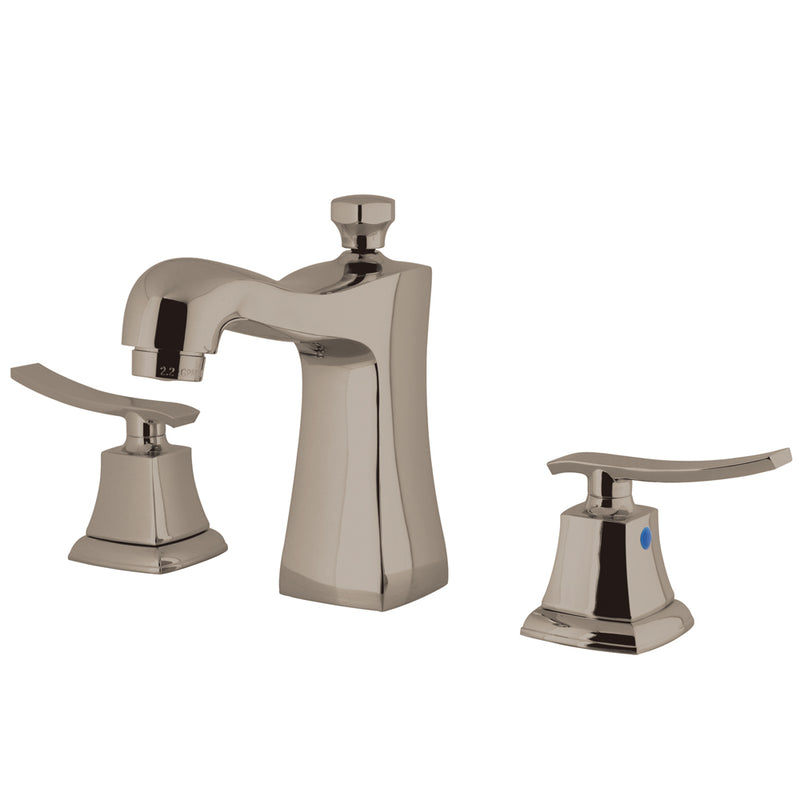 Kingston Brass KB4968JQL Widespread Lavatory Faucet, Satin Nickel - Satin Nickel | Kipe it