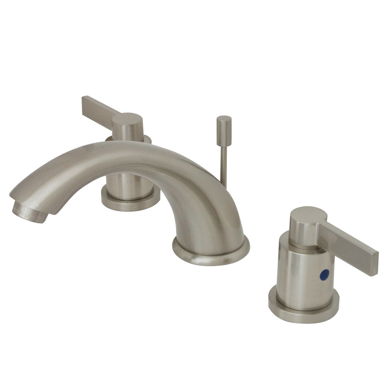Kingston Brass KB8968NDL Widespread Lavatory Faucet, Satin Nickel - Satin Nickel | Kipe it