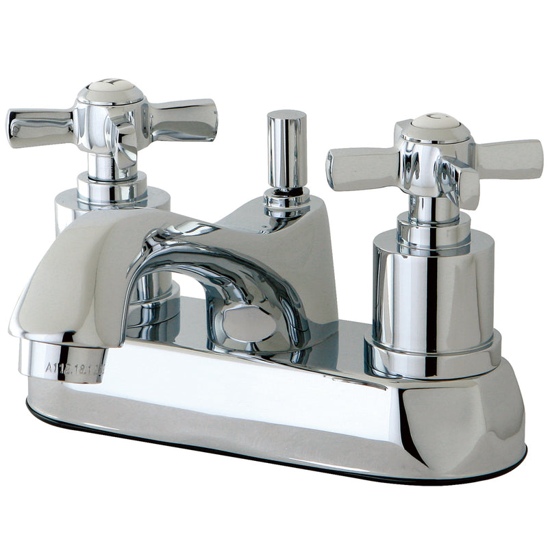 Kingston Brass KS4261ZX 4-Inch Centerset Lavatory Faucet, Polished Chrome - Polished Chrome | Kipe it