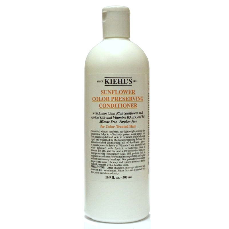 Kiehl's Sunflower Color Preserving Conditioner (for Color-Treated Hair) 500 ml | Kipe it