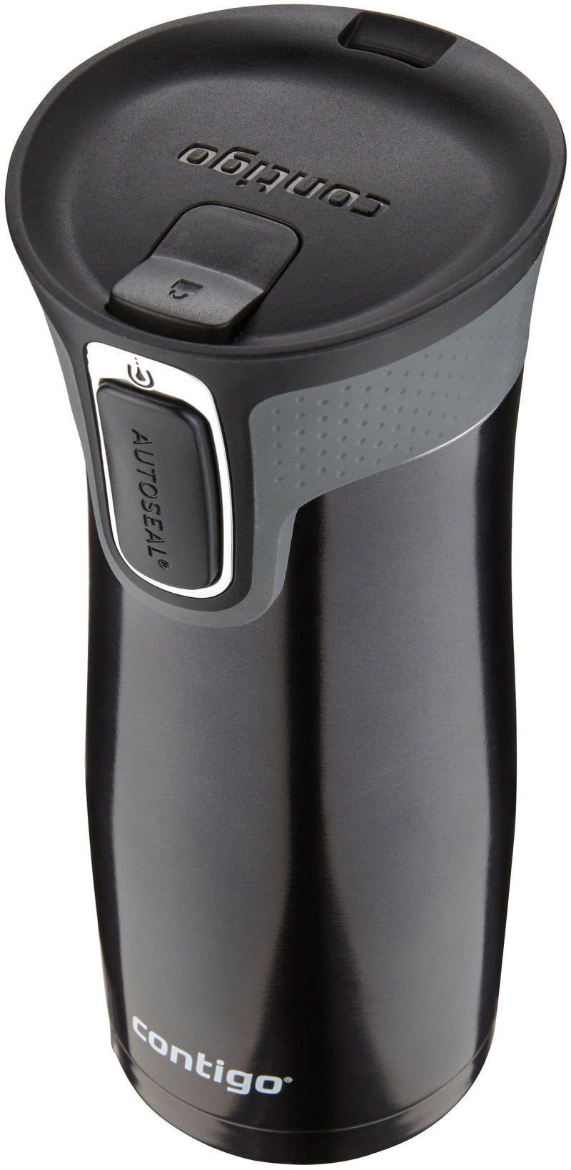 Contigo West Loop 2.0 16oz Stainless Steel Travel Mug-Black | Kipe it