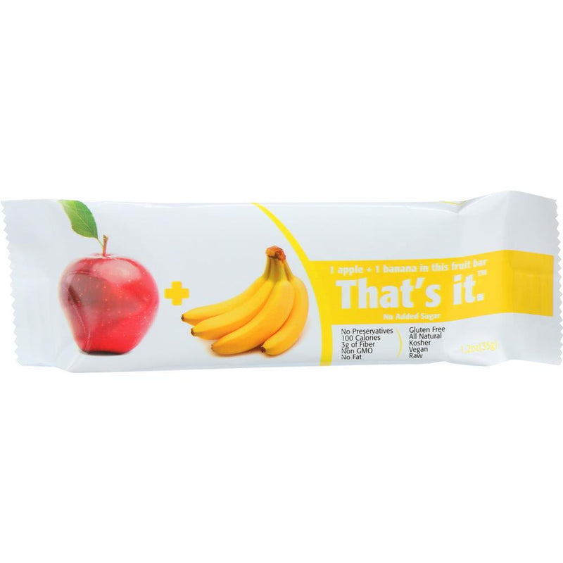 That's It - Apple & Banana Fruit Bar ( 12 - 1.2 OZ) | Kipe it