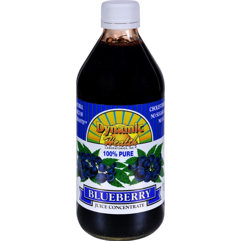 Dynamic Health - Blueberry Juice Concentrate ( 1 - 16 FZ) | Kipe it