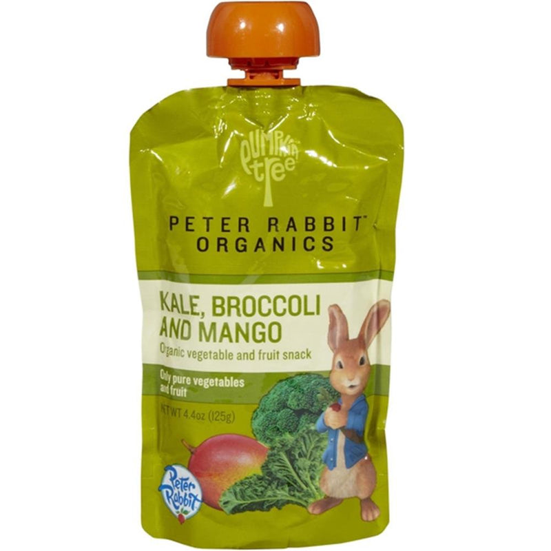 Peter Rabbit Organics - Kale, Broccoli & Mango Puree ( 10 - 4.4 OZ) | Kipe it