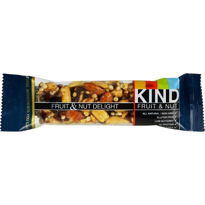 Kind Fruit and Nut Bars - Delight Bars ( 12 - 1.4 OZ) | Kipe it