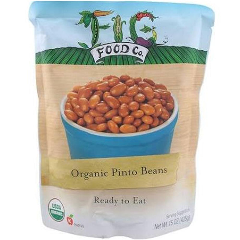 Fig Food - Ready To Eat Pinto Beans ( 6 - 15 OZ) | Kipe it