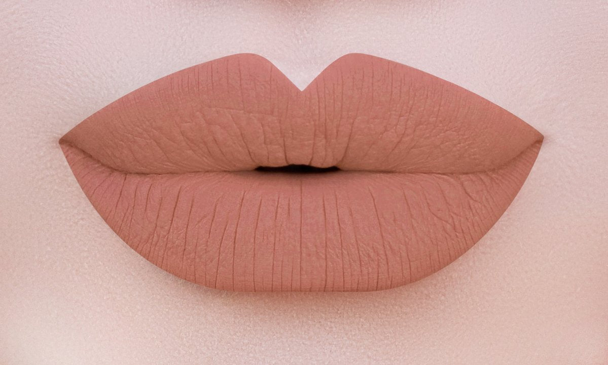28 LONG WEAR MATTE LIP GLOSS - LATTE