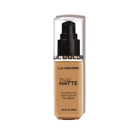 TRULY MATTE FOUNDATION - WARM HONEY