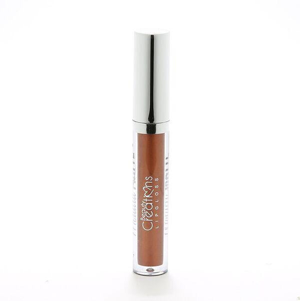 LGM10 METALLIC LONG WEAR MATTE LIP GLOSS - COFFEE CAKE