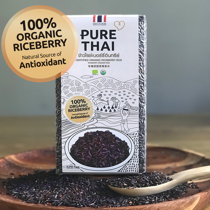 PURE THAI 有機認證紫莓香米 CERTIFIED ORGANIC RICEBERRY RICE