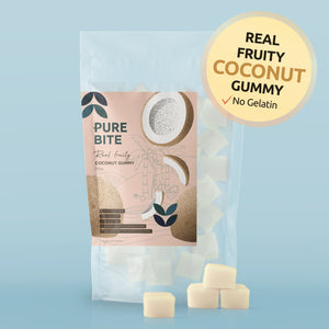 PURE BITE 真果肉椰子軟糖   PURE BITE REAL FRUITY COCONUT GUMMY
