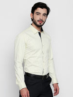 ZIDO Slim Fit Cotton Printed Shirt for Men's PN1418