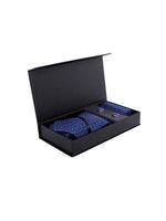Zido Tie Cufflink Pocket Square Combos for Men TCP194