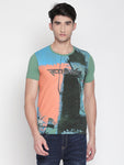 ZIDO Printed Men's T-Shirt  RNPRT7333