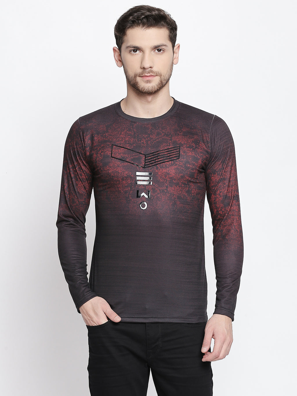 ZIDO Printed Men's T-Shirt 9363