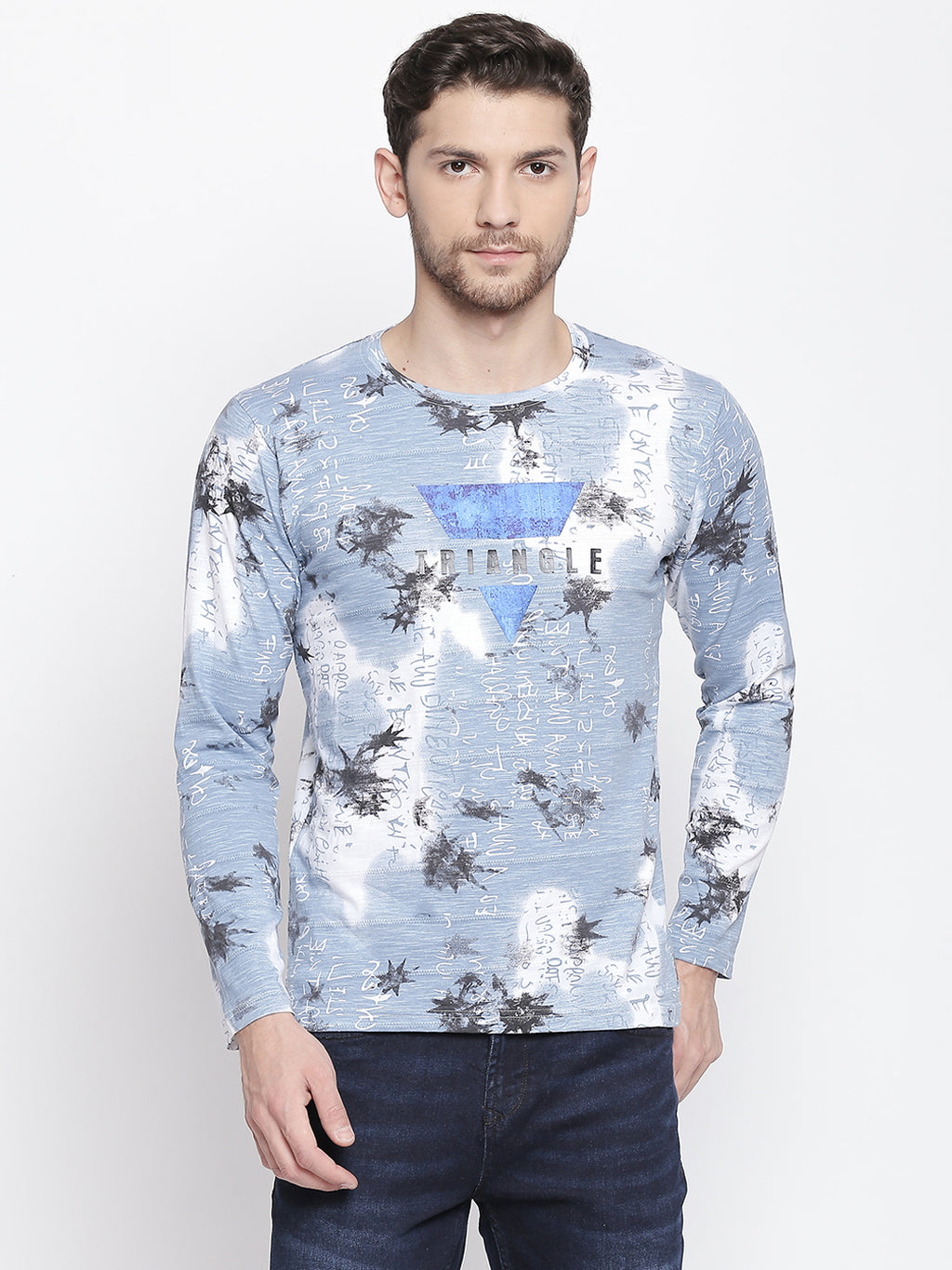 ZIDO Printed Men's T-Shirt 9359