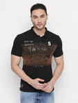 ZIDO Printed Men's T-Shirt TPRT410