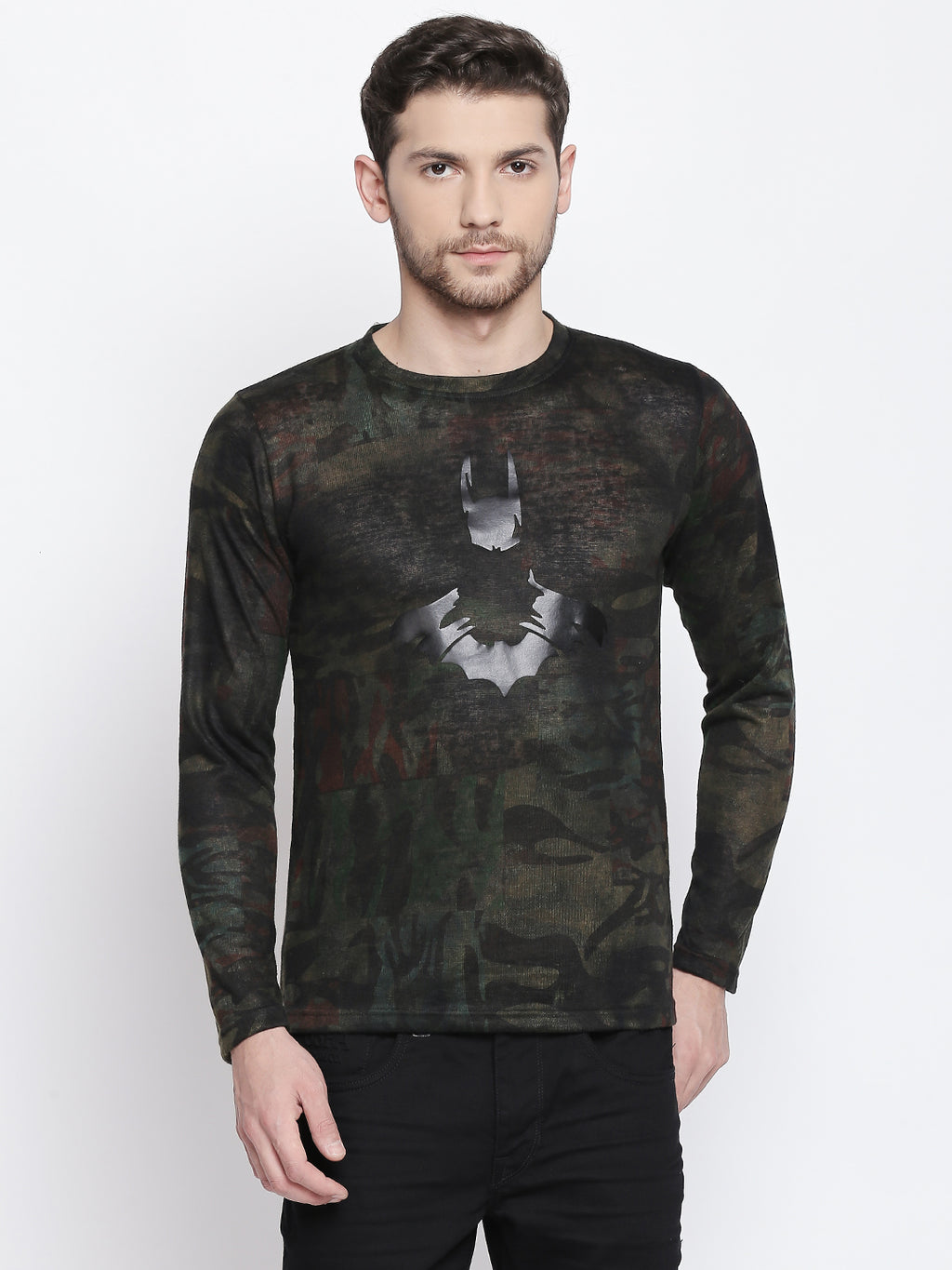 ZIDO Printed Men's T-Shirt 9361