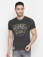 ZIDO Printed Men's T-Shirt RNPRT9313