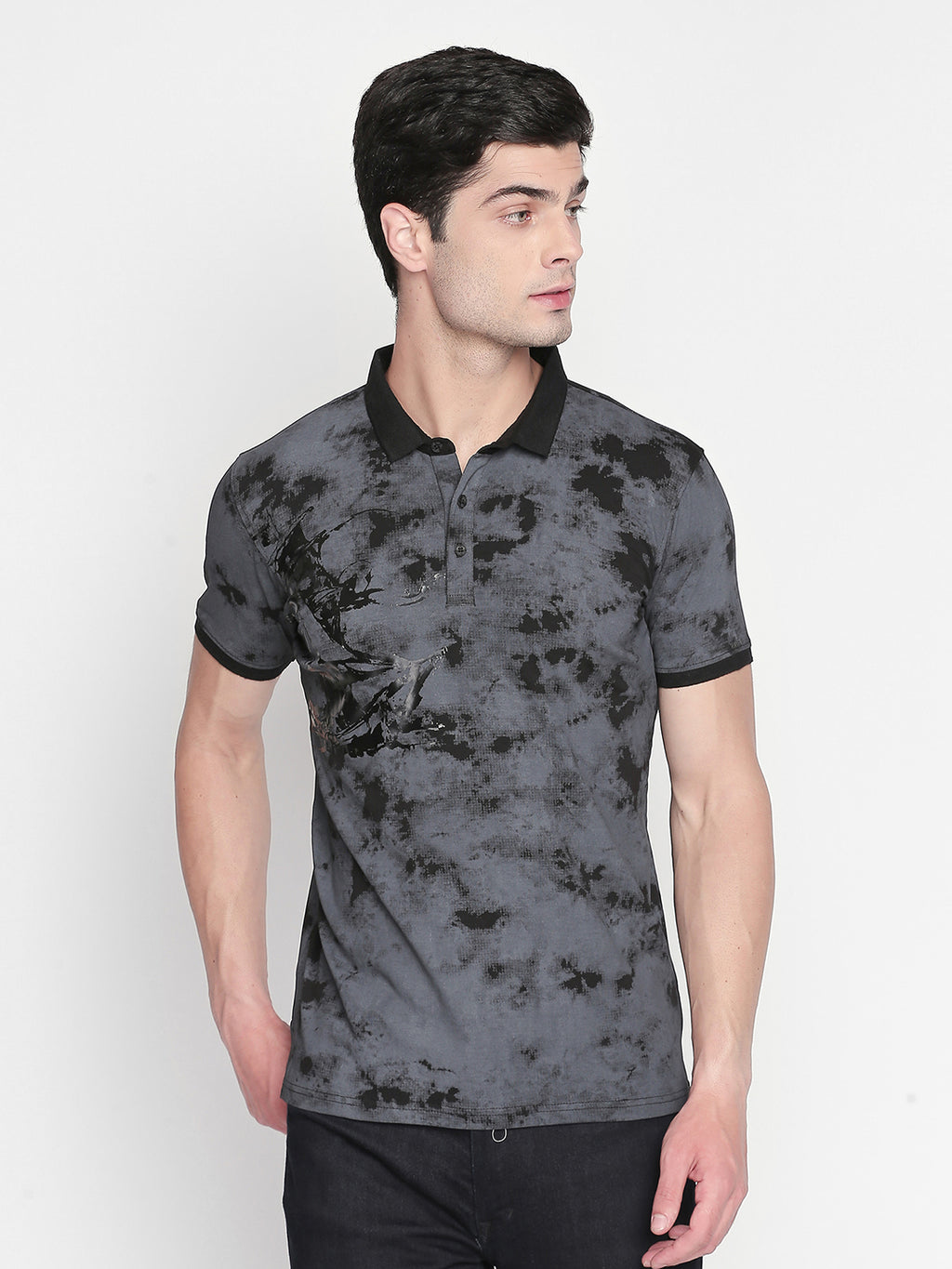 ZIDO Printed Men's T-Shirt TPRT405