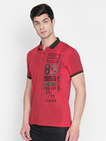 ZIDO Printed Men's T-Shirt TPRT413