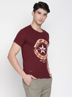 ZIDO Printed Men's T-Shirt  RNPRT7343