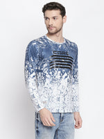 ZIDO Printed Men's T-Shirt 9362