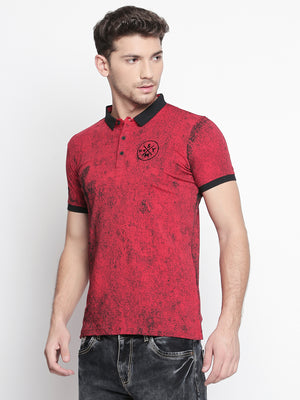 ZIDO Printed Men's T-Shirt TPRT402