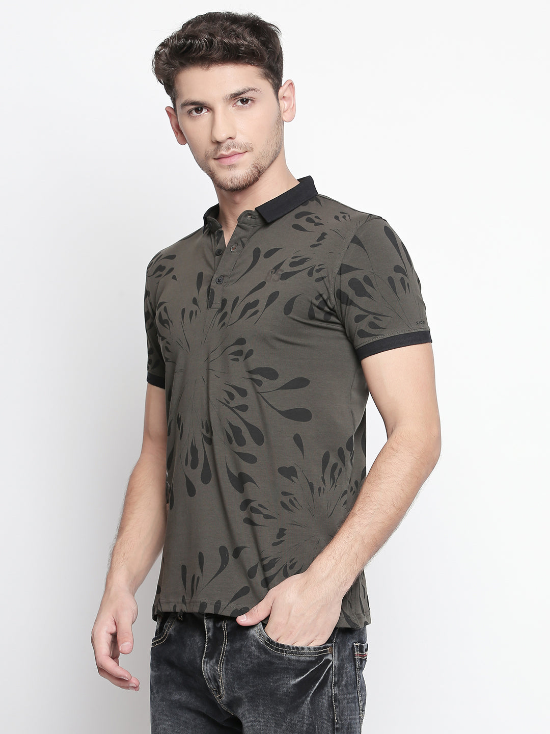 ZIDO Printed Men's T-Shirt TPRT404
