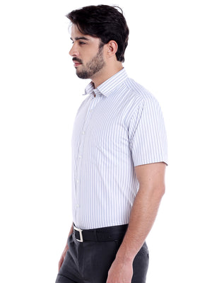 ZIDO Blended Striped Shirt for Men's SH5139