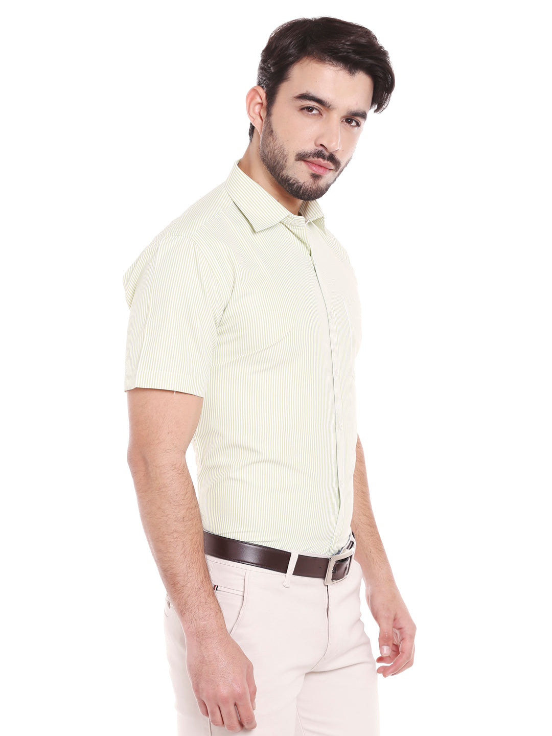 ZIDO Blended Striped Shirt for Men's SH5140